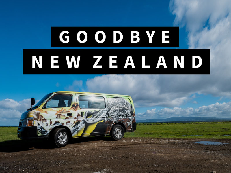 Goodbye New Zealand!