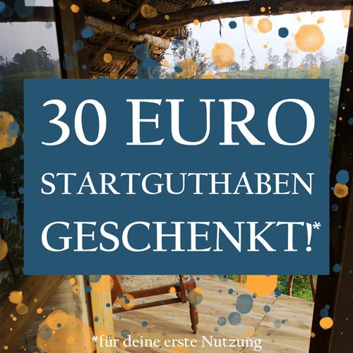 30 Euro Airbnb Startguthaben geschenkt!*