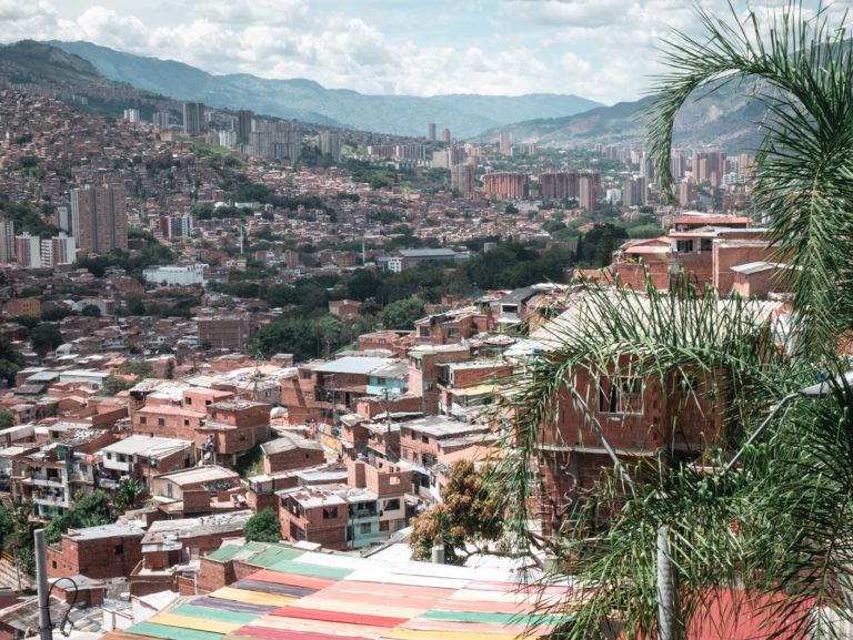 Ausblick auf Medellín