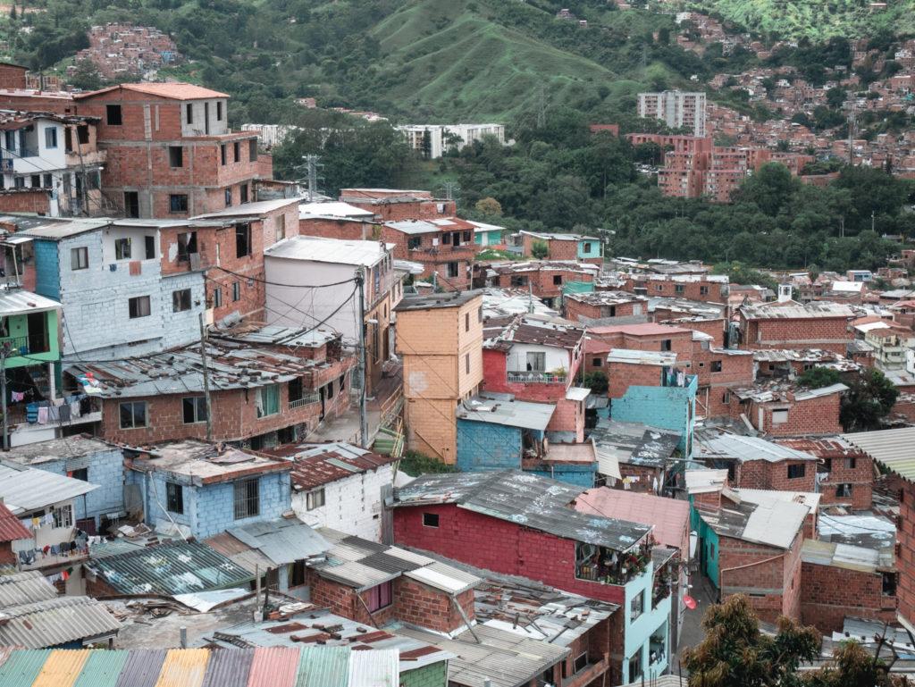 Blick auf Comuna 1