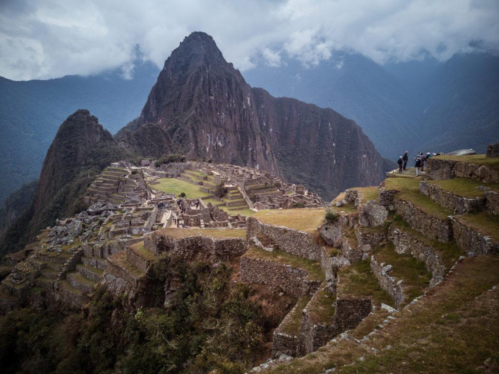 Das Wetter ist bestens, um den Machu Picchu zu bestaunen