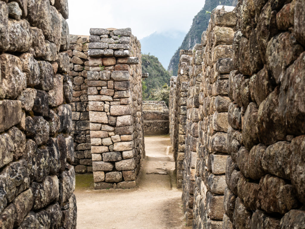 Die Ruinen der alten Stadt sind noch gut erhalten