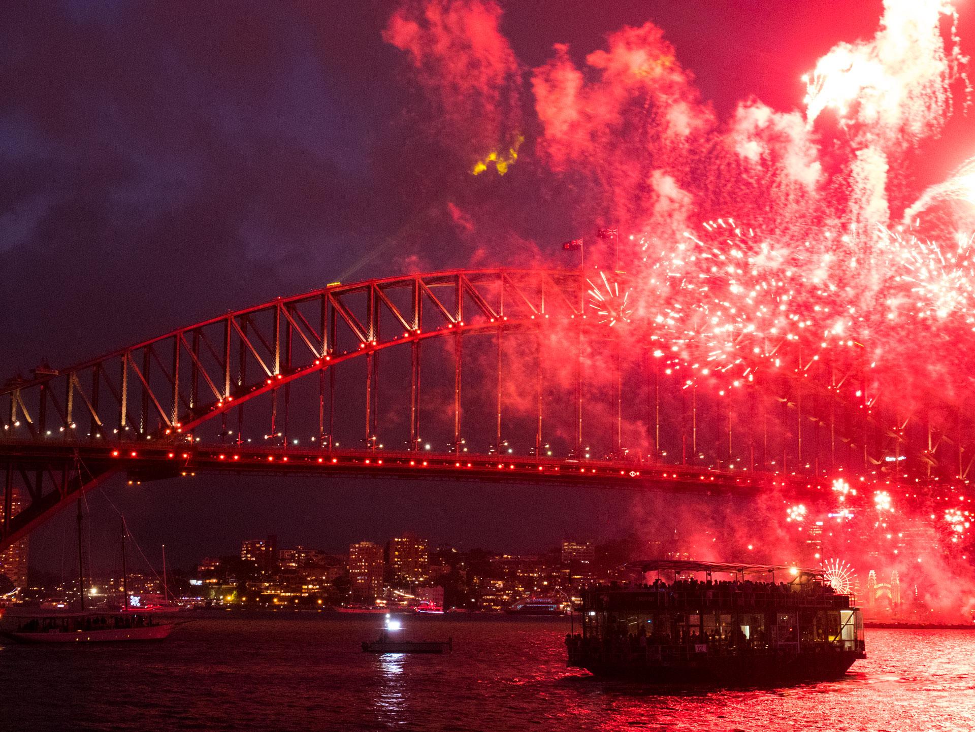 Silvester in Sydney 2017